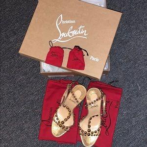 Christian Louboutin heels brand new